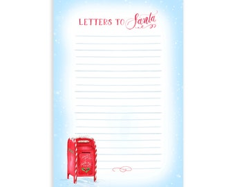 Letters to Santa Notepad   To-Do List   Christmas Notepad   Social Stationery   Grocery List   Office Notepad   Holiday Notepad   Gift List