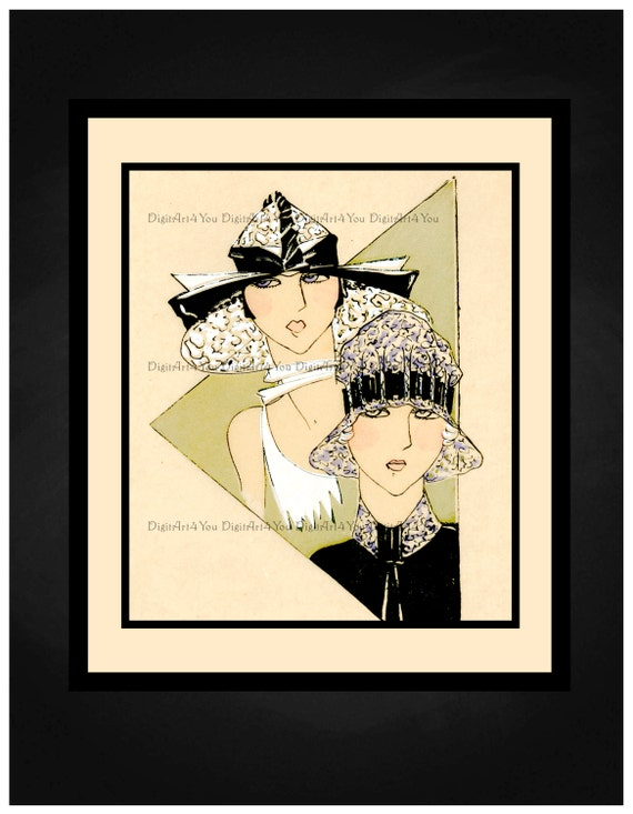 High Resolution Poster Digital Download Vintage Haute Couture Sewing ...