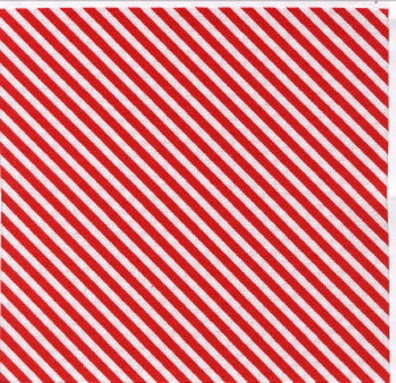 Diagonal Mini Stripe by Timeless Treasures Mini- C-2292 Red End of the bolt 1 yard 17 piece of fabric