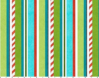 Best Tree on the Lot by Northcott Fabrics, Fabric by the yard, 21762-63 Turqoise