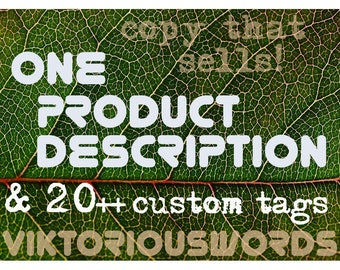 SEO Etsy Shop Product Descriptions Tags Title Etsy Writing Services Copywriting Tips Custom Selling Listing Description Marketing ranking