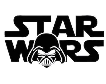 Darth Vader Star Wars Vinyl Decal