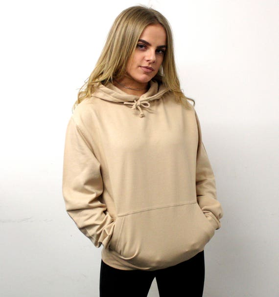 Save The People womens hoodie sand hoodie oversized  f9db084a7