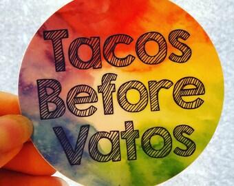 Taco vinyl sticker | Etsy