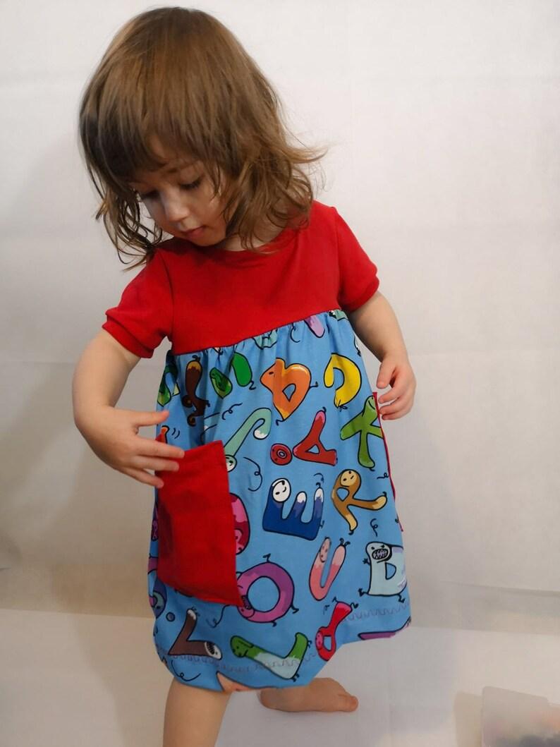 PDF-mönster ATRIA Pocket Dress strl 56-152. Pattern ATRIA image 0