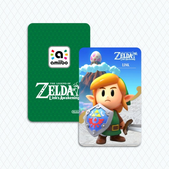 The Legend Of Zelda Link S Awakening Custom Link Amiibo Card