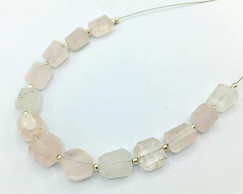 1 Strand Morganite Beads @W621