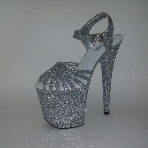 Pole dancing shoes custom made exotic
