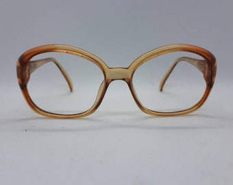 a65ba09151f Vintage TERRI BROGAN 8726 eyewear Brille gafa lunettes 80s optyl brown frame  1980s Brille Made in Austria new old stock NOS