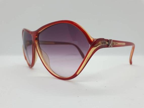 Vintage VIENNALINE 1222 sunglasses  optyl red fra… - image 5