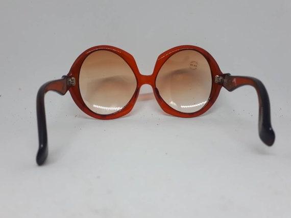 Vintage AMERY ST. TROPEZ sunglasses red frame ace… - image 4