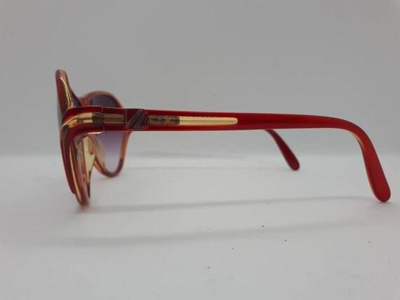 Vintage VIENNALINE 1222 sunglasses  optyl red fra… - image 3