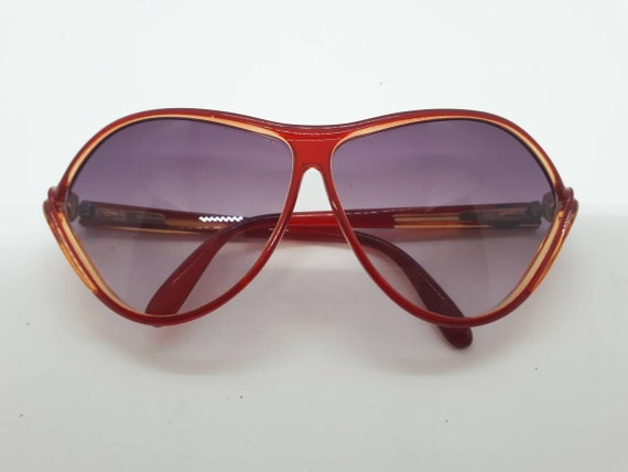 Vintage VIENNALINE 1222 sunglasses  optyl red fra… - image 2