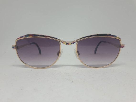 Vintage CAZAL 258 sunglasses 80s multicolour frame
