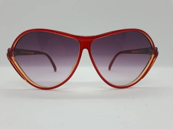 Vintage VIENNALINE 1222 sunglasses  optyl red fra… - image 1