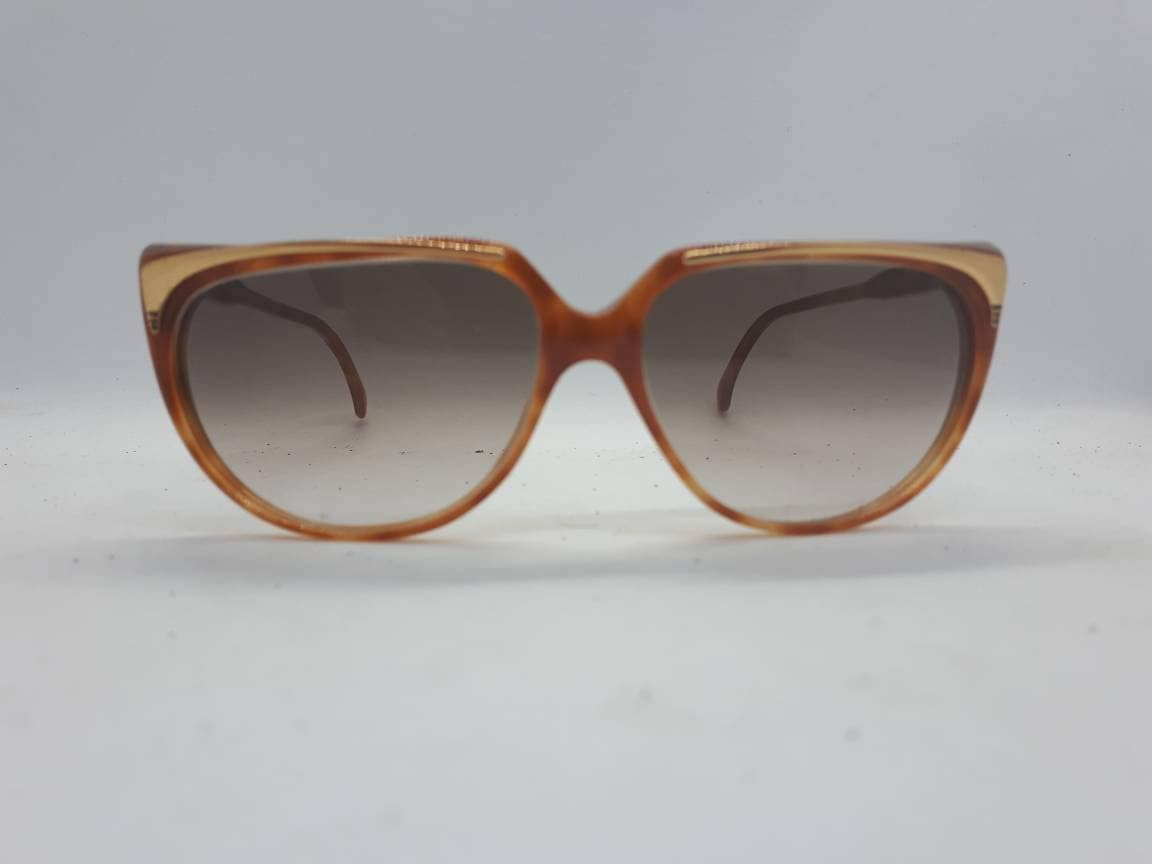 ad2fe245533 Vintage GUCCI 2101 sunglasses gold schildpatt Made in Italy