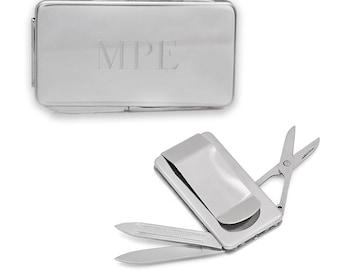 Engravable Clips mc300 Money Clip Sterling Silver