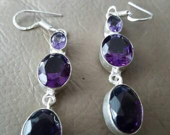 Amethyst Earrings!