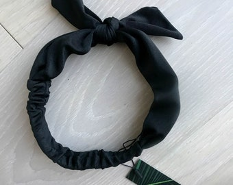 Black Headband and Hair Tie