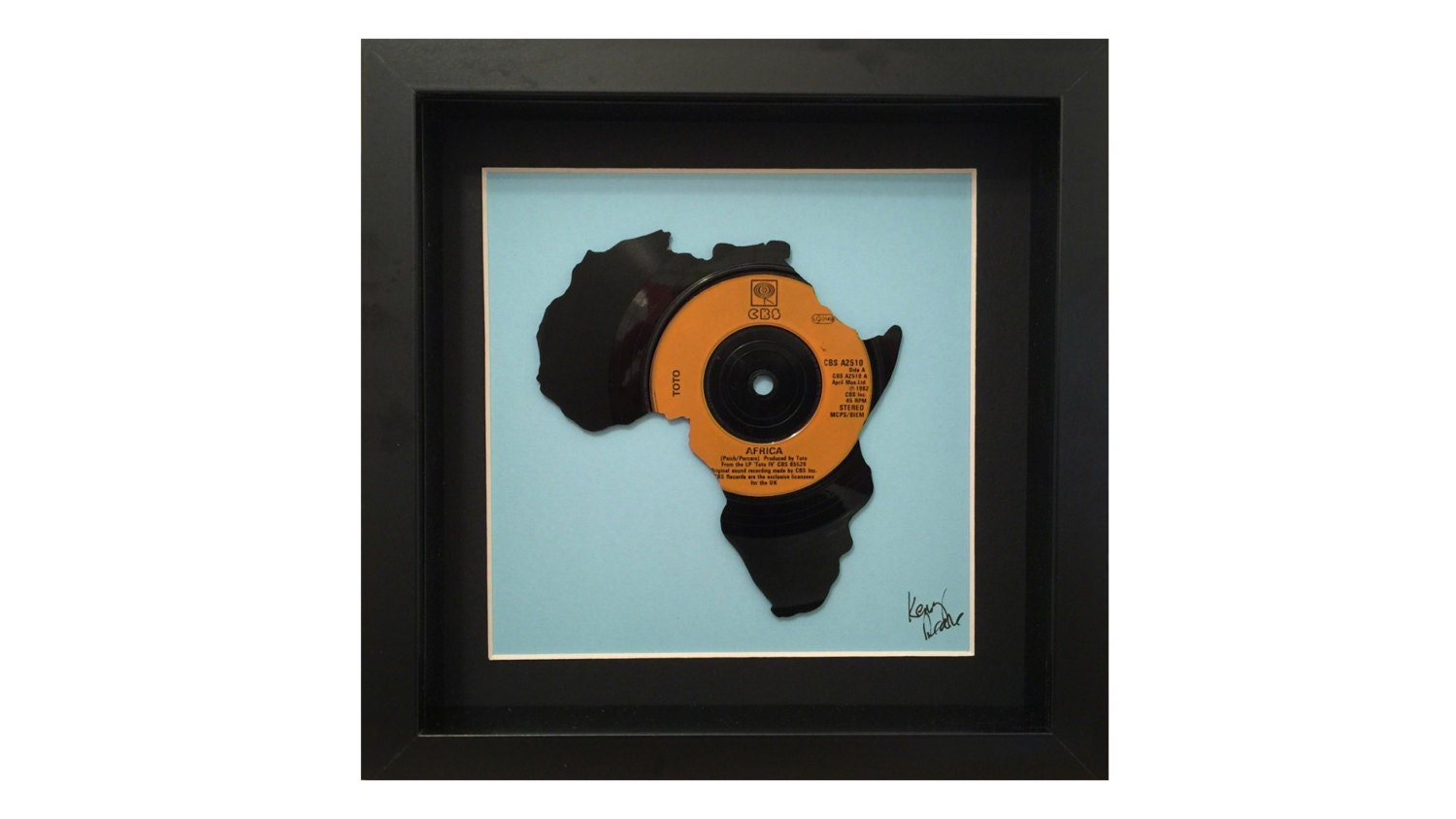 Toto Africa Vinyl Record Art FREE UK Delivery | Etsy