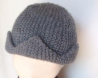 Jughead Beanie Knitting Pattern/Jughead Hat Knitting Pattern/Jughead Jones Knit Pattern/Riverdale Knit Pattern/Jughead Beanie Knit Pattern