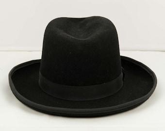 4386bc844fb Felt homburg hat