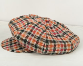 0ea4223d7ea Plaid newsboy hat