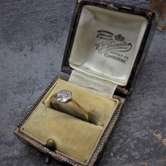 Original Antique Victorian Diamond Ring