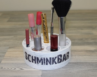 Cosmetic organizer SchminBar Make-up Badutensilios nicely kept