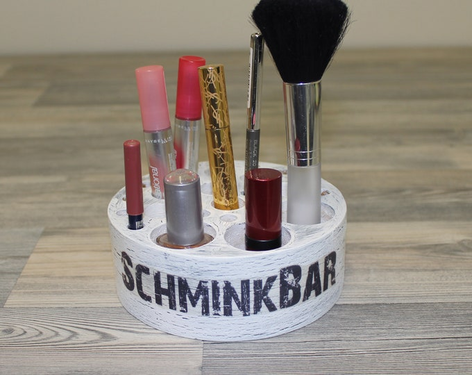 Featured listing image: Cosmetic organizer SchminBar Make-up Badutensilios nicely kept