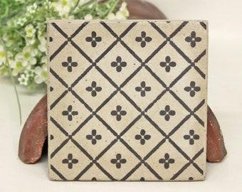 Verona Concrete Vintage Tile/Coaster Retro tile 15 x 15 cm
