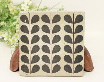 PORI Concrete Vintage Tile/Coaster Retro tile 15 x 15 cm