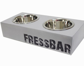 WOW Enchanting FressBar for small dogs & kittens Noble in grey