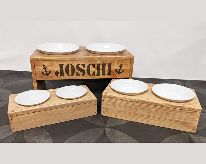 Featured listing image: High-quality porcelain bowl for the toultime feed stations S to XL