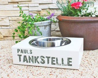 """Dog cats drinking station for indoor and outdoor """"petrol stations"""""""