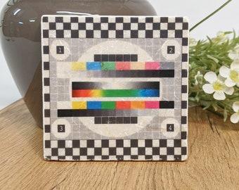 TESTBILD Vintage Tile / Coasters / Retro Pattern
