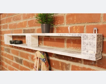 Large all-purpose shelf in vintage style/retro shelf