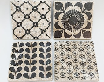 Vintage Fliesen Muster
