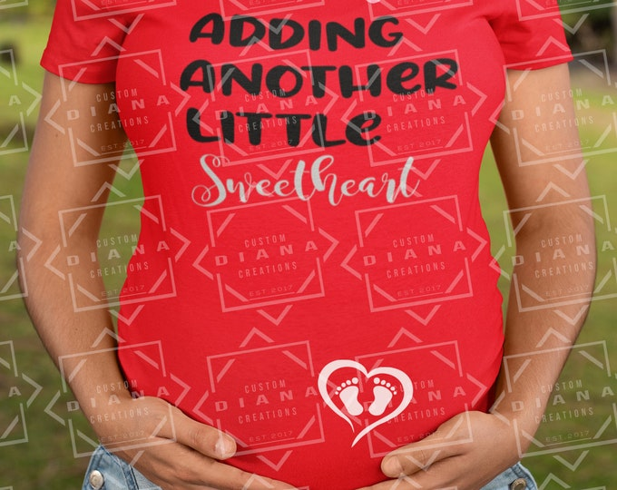 Maternity, Baby, Valentine's Day, Be Mine, Adding another sweetheart, Expecting, New Mom, Gift, Pregnant, Baby Shower, Announcement,  mommy