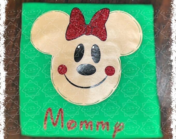 Disney Shirt, Disney Christmas, Gingerbread Mickey, Christmas 2018, Mickey Mouse, Christmas Mickey, Very Merry Christmas, Gingerbread Minnie