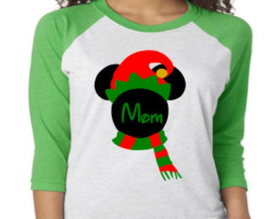 Disney shirt, Disney Christmas, Elf Mickey, Christmas 2018, Mickey Christmas, Disney World, Mickey Mouse, Very Merry Christmas, Minnie Elf