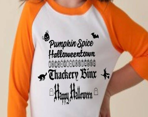 Disney Shirt, Halloween, Halloween shirt, Glow in the Dark, Fall, Jack-O-Lanterns, Hocus Pocus, Thackery Binx, Pumpkin Spice, Halloweentown