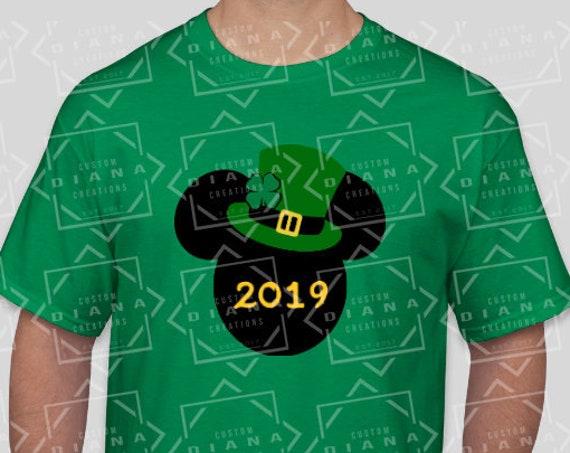 Irish, St. Patricks Day, Mickey Mouse, St Patricks Day Mickey, St Paddys Day, Luck of the Irish, Leprechaun, Lucky shirt, Four Leaf Clover