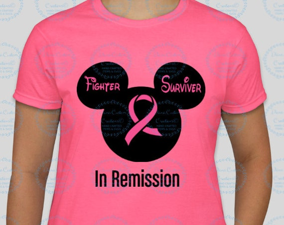 Free Shipping, Breast Cancer, Mouse Head, Breast Cancer, Cancer Survivor, Cancer Supporter, Cancer Fighter, Fight like a girl, Fight Pretty