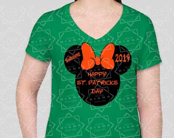 Irish, St. Patricks Day, Minnie Mouse, St Patricks Day Minnie, St Paddys Day, Luck of the Irish, Leprechaun, Lucky shirt, Four Leaf Clover