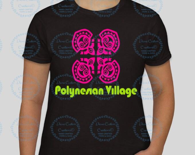 Disney Shirt, Polynesian, Polynesian Resort, Polynesian Shirt, Polynesian Village Shirt, Tiki, Tiki Shirt, Hawaiian Shirt, Hawaiian Tiki