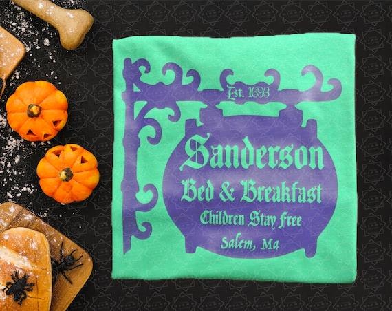Disney, Sanderson B & B, Sanderson Sisters, Disney Shirt, Hocus Pocus, Disney Halloween, Halloween, Bed and Breakfast, Hocus Pocus Shirt