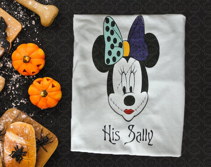 Disney Shirt, Nightmare Before Christmas, Sally, Jack and Sally, Jack Skellington, Sally Shirt, Tim Burton, Halloween, Disney Halloween,