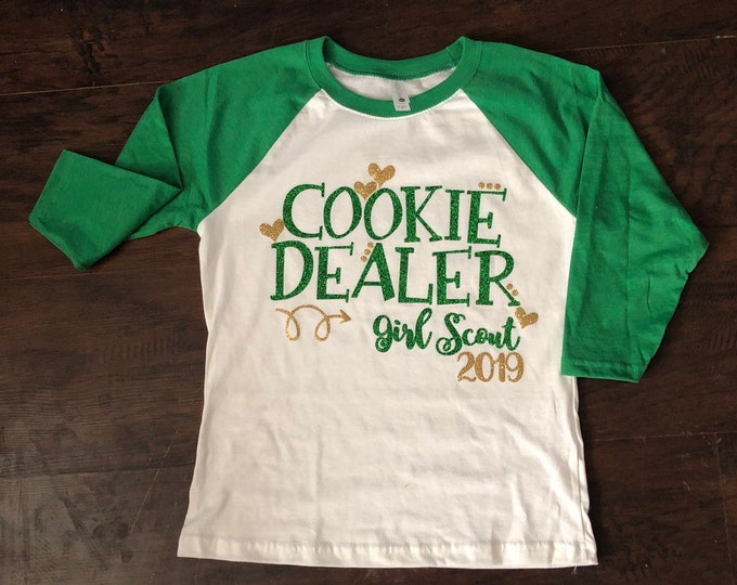 Cookie Dealer, Cookie Booth, Cookie Shirt, Girl Scout, Somoas, Carmel Delites, Thin Mints, Patties, Smores, Girl Scout Cookies, Booth Shirt