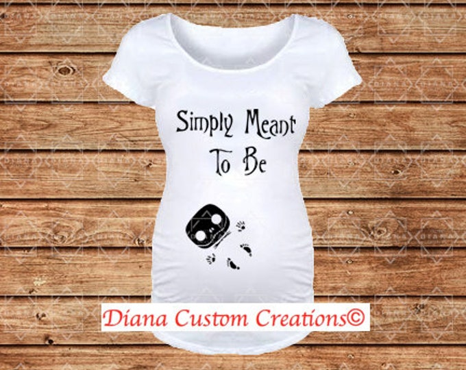 READY TO SHIP, Maternity, Pregnant, Baby, New Mom, Disney Maternity, Baby shower, Nightmare before Christmas, Jack Skellington, Halloween